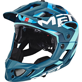 MET Parachute Casco, blue/cyan
